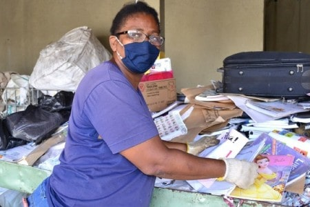 CECÍLIA Maria encontrou na Casa de Acolhimento Amor e Vida trabalho e dignidade